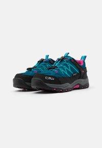 CMP - KIDS RIGEL LOW TREKKING SHOES WP - Hiking shoes - deep lake/baltic - 1
