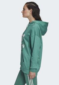 adidas Originals - Luvtröja - turquoise/white - 2