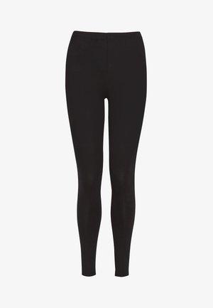 FULL LENGTH LEGGINGS - Leggings - Trousers - black