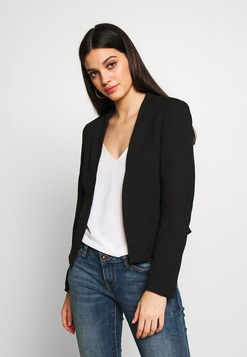 Vero Moda - VMJANEY SHORT - Blazer - black