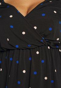 Dorothy Perkins Curve - FORMAL WRAP SPOT - Topper langermet - multi coloured - 5