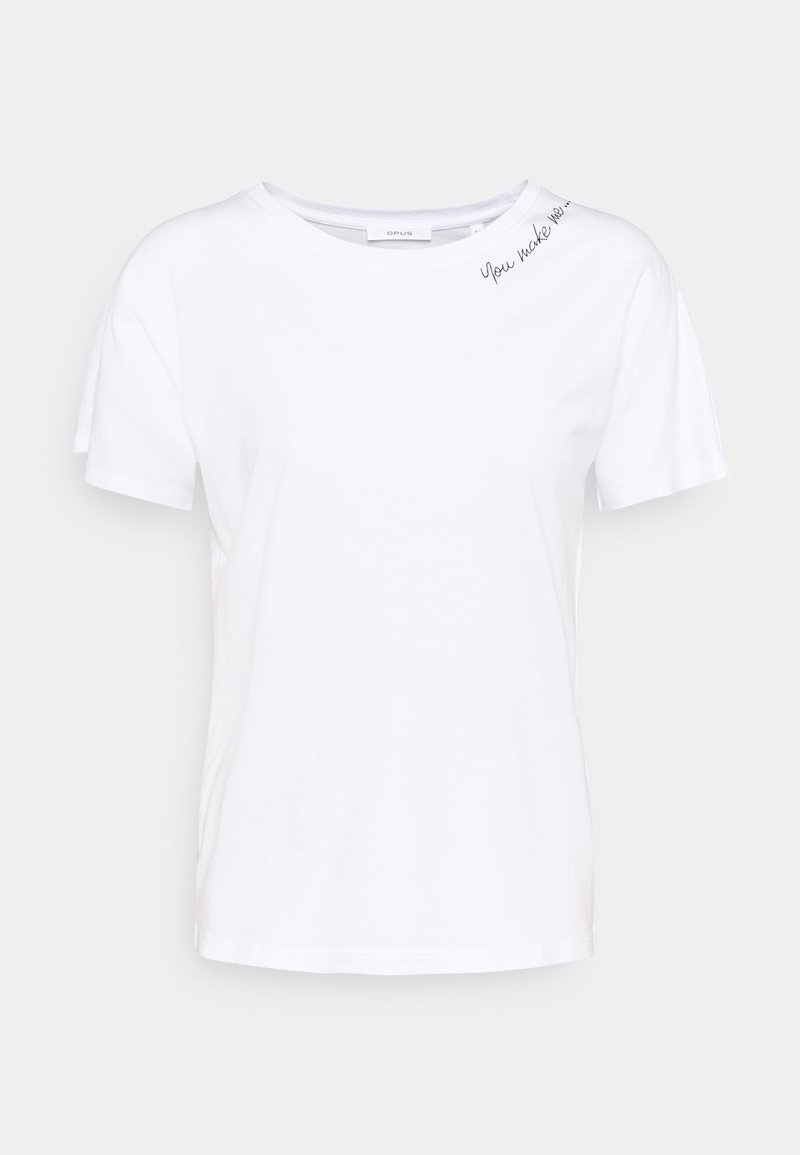 Opus - SEMBRO ROS - Basic T-shirt - white