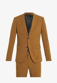 PLAIN MENS SUIT - Traje - tobacco