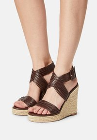 Even&Odd - Platform sandals - brown - 0