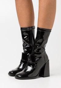 Koi Footwear - VEGAN  - High heeled boots - black - 0