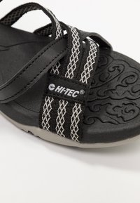 Hi-Tec - SAVANNA II  - Walking sandals - black/cool grey - 5