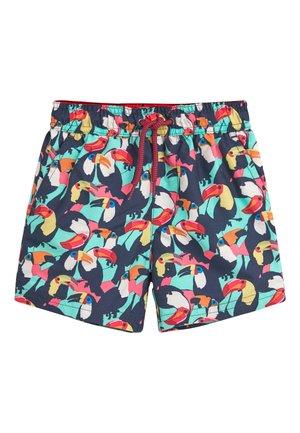 MULTI TOUCAN SWIM SHORTS (3MTHS-16YRS) - Swimming shorts - dark blue/red/white