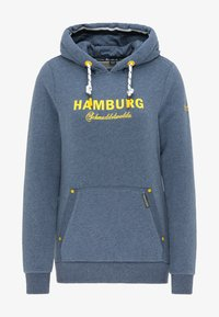 Schmuddelwedda - HAMBURG - Hoodie - marine melange - 4