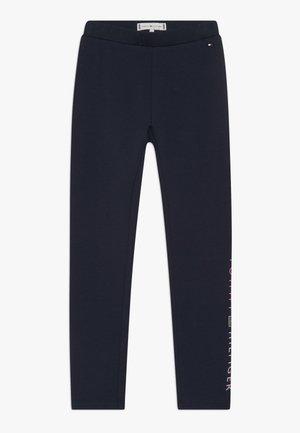 ESSENTIAL LOGO - Leggings - blue