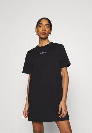 JORDAN - Jersey dress - black