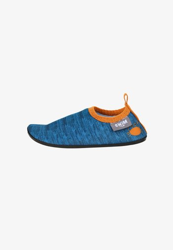 AQUA-SCHUH - Slippers - blau