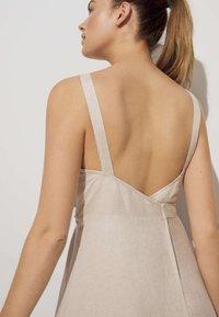 OYSHO - Day dress - beige - 2
