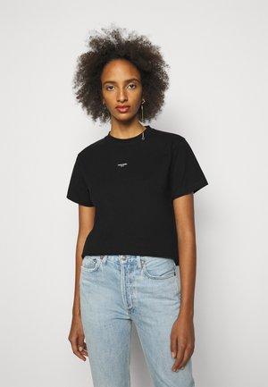 OSLO TEE - Basic T-shirt - black