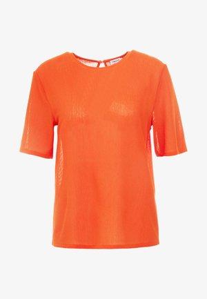 TEE - Jednoduché triko - tangerine