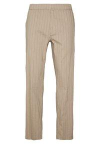 Theory - GRAHAM ALARO STRIPE - Pantalon classique - beige stone - 6