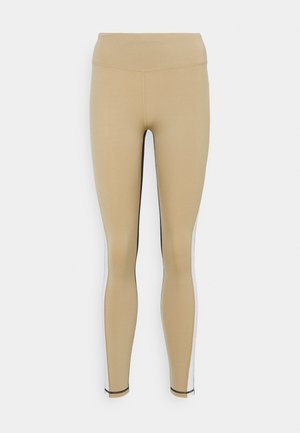 HIGH WAIST STRIPE TIGHT - Leggings - cornstalk