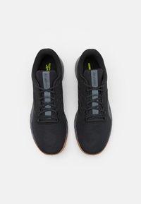 Reebok - NANOFLEX TR - Sports shoes - core black/pure grey - 3