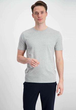 7 PACK - Basic T-shirt - black/ grey/ navy