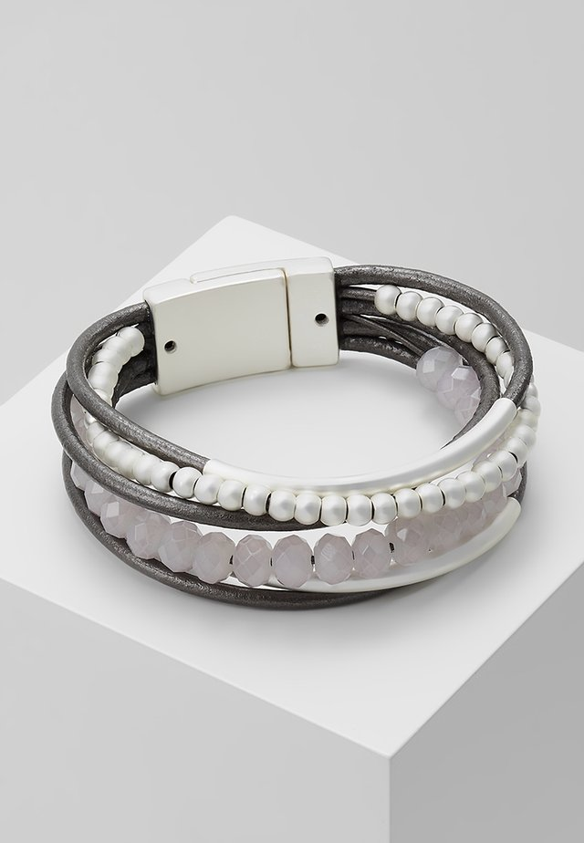 RABEA - Bracelet - silver-coloured/grey
