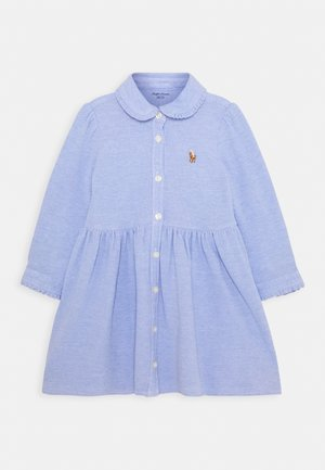 SOLID DRESS - Shirt dress - harbor island blue