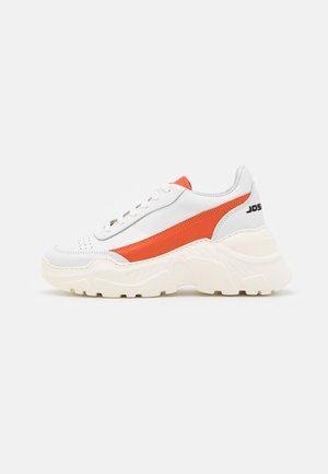EXCLUSIVE ZENITH CLASSIC DONNA - Zapatillas - white/orange touch