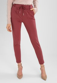 ONLY - POPTRASH EASY COLOUR  - Tracksuit bottoms - wild ginger - 0