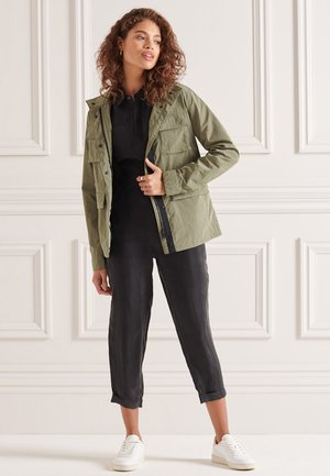 RIPSTOP - Light jacket - moss khaki