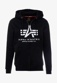 Alpha Industries - Vetoketjullinen college - black - 3