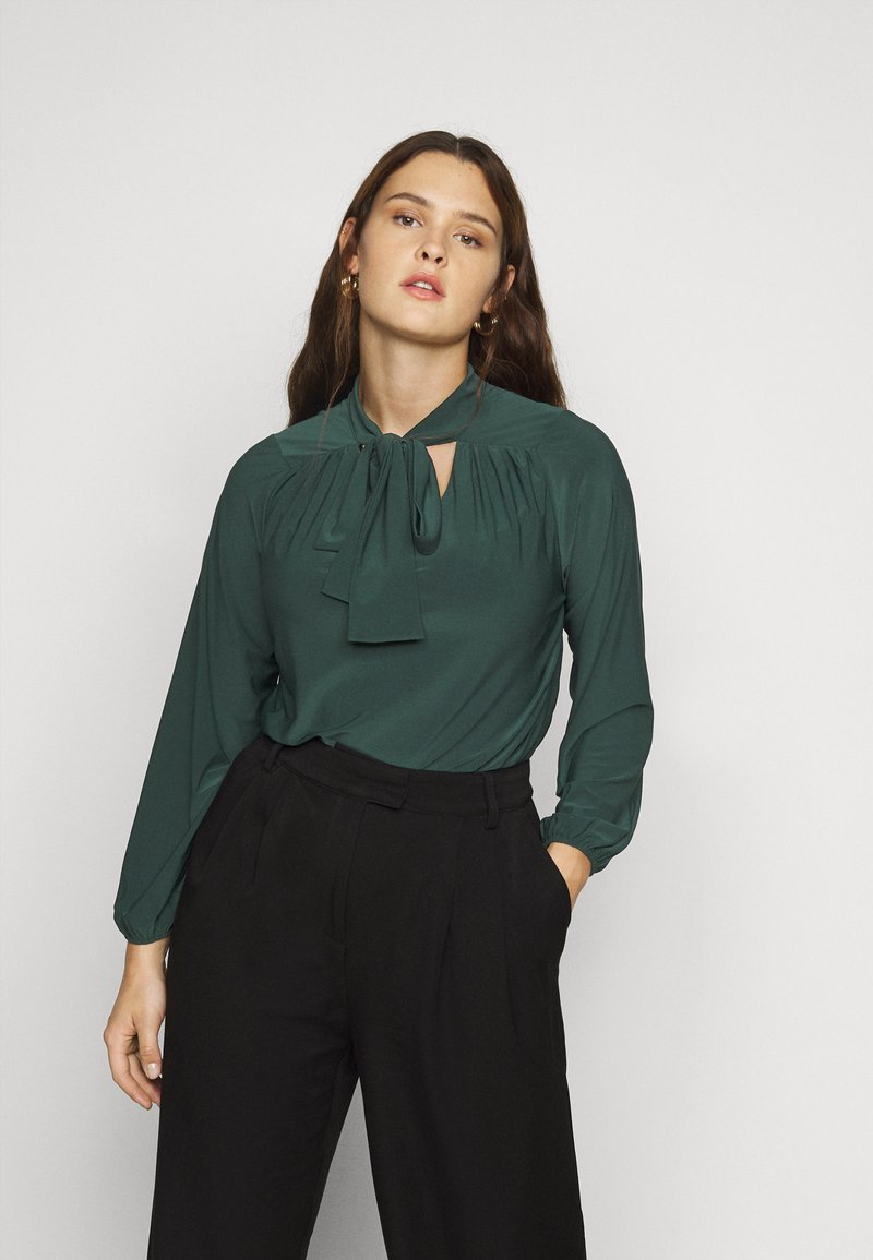 Evans - PUSSYBOW - Long sleeved top - green