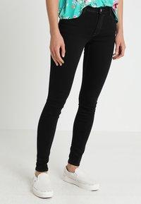 edc by Esprit - Jeans Skinny Fit - black rinse - 0