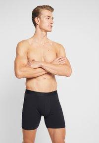 Zalando Essentials - 3 PACK - Pants -  black - 1