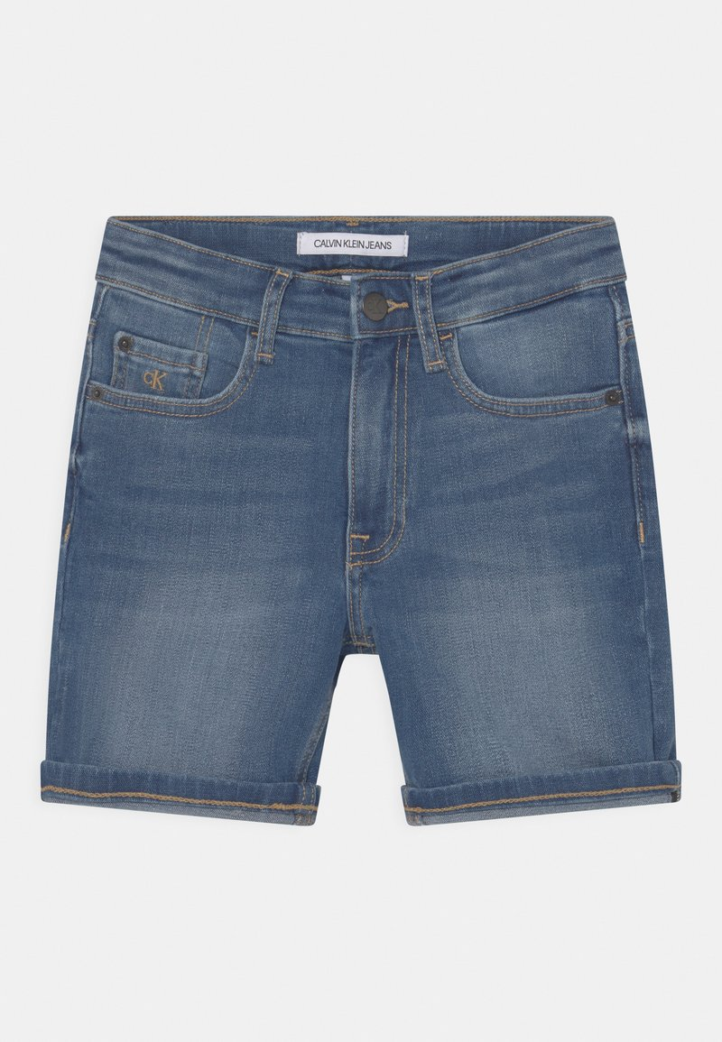 Calvin Klein Jeans - REGULAR FRESH  - Denim shorts - denim