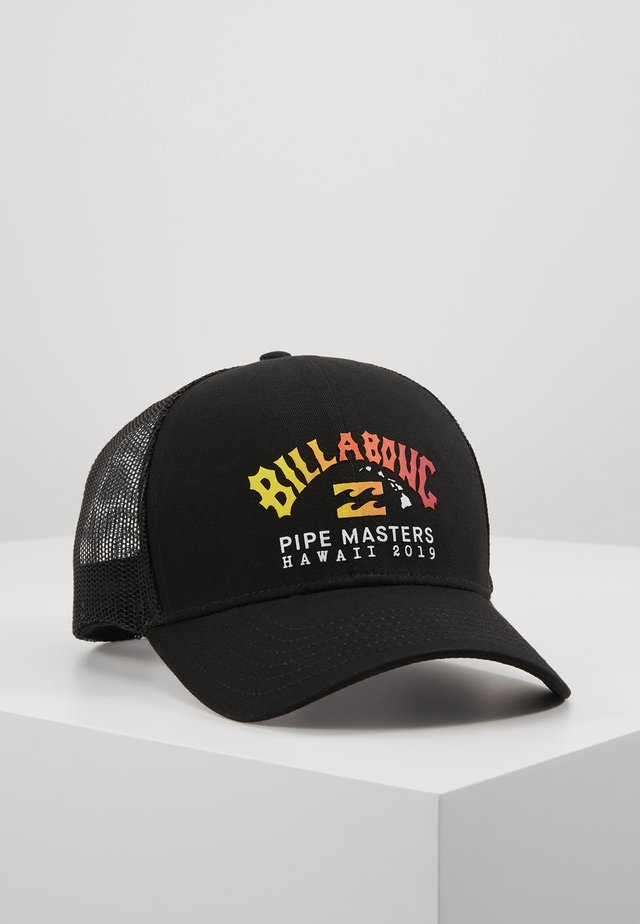 PIPE TRUCKER - Cap - black