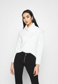 Even&Odd - ROLL NECK JUMPER - Jersey de punto - off-white - 0