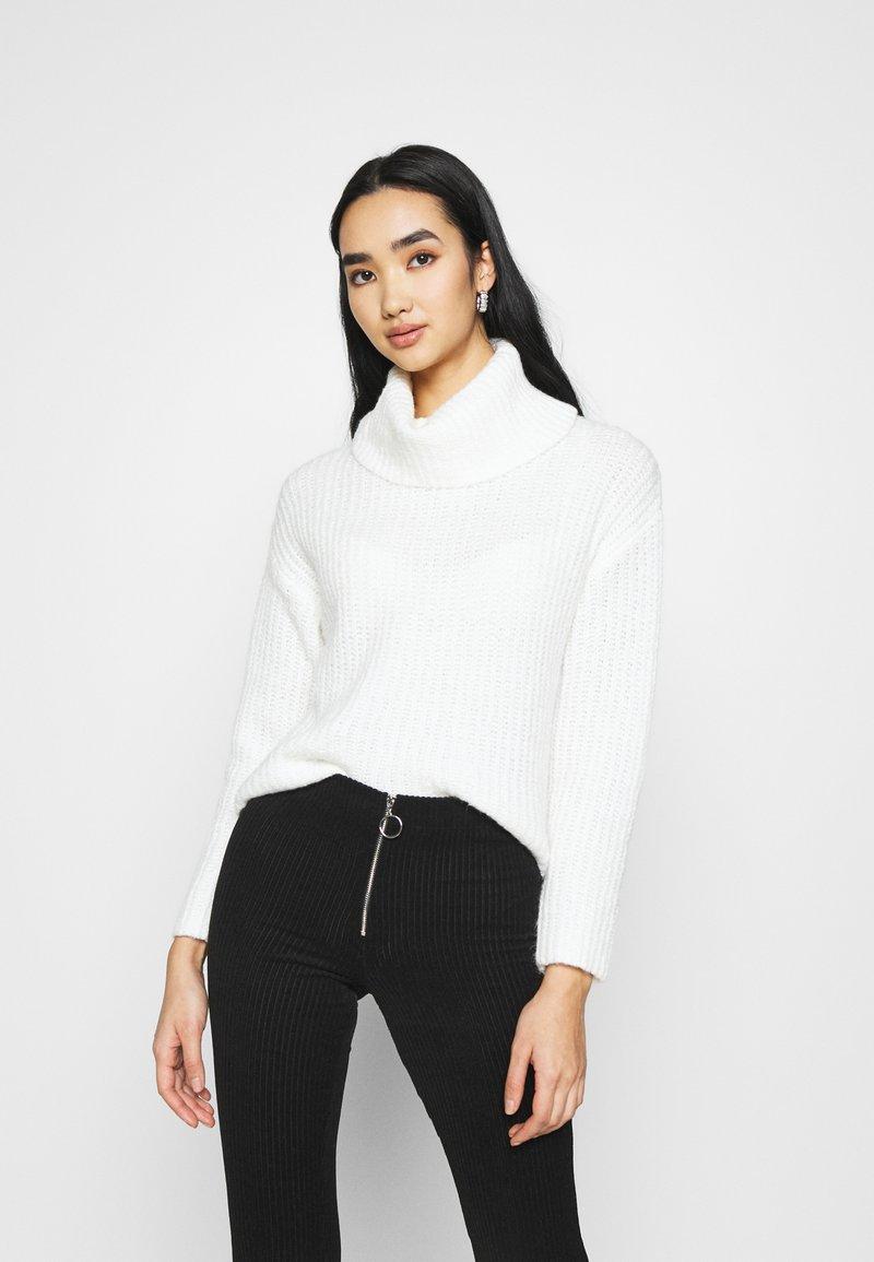 Even&Odd - ROLL NECK JUMPER - Jersey de punto - off-white
