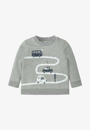 MIT PRINT - Sweatshirt - drizzle melange/gray