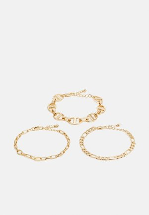 PCARTIA BRACELET 3 PACK - Bracelet - gold-coloured