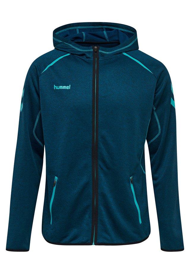 HMLAUTHENTIC PRO  - Zip-up hoodie - celestial melange