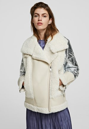 Light jacket -  white/silve