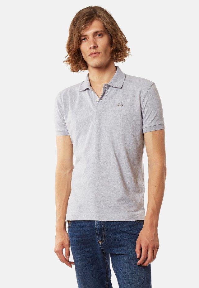 EDUARDO - Polo shirt - light heather grey
