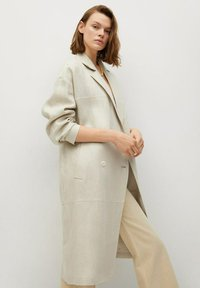 Mango - Classic coat - beige - 0
