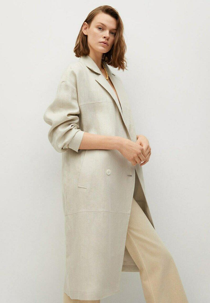 Mango - Classic coat - beige