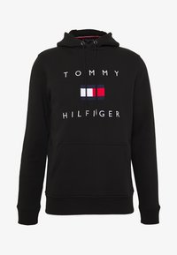 Tommy Hilfiger - FLAG HOODY - Sweat à capuche - black - 4