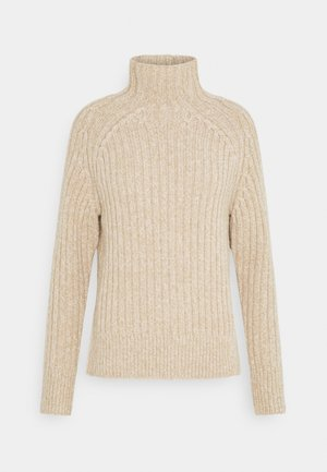 LONG SLEEVE - Maglione - dark oatmeal marl