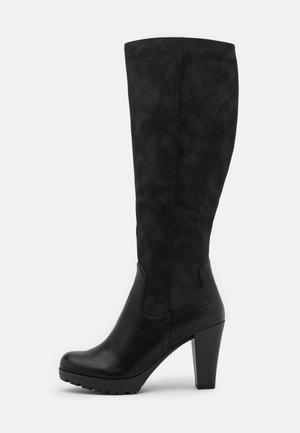 ELENOR - Stivali con i tacchi - black