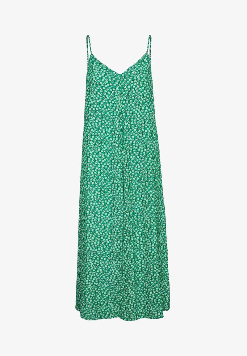 Vero Moda - Długa sukienka - simply green