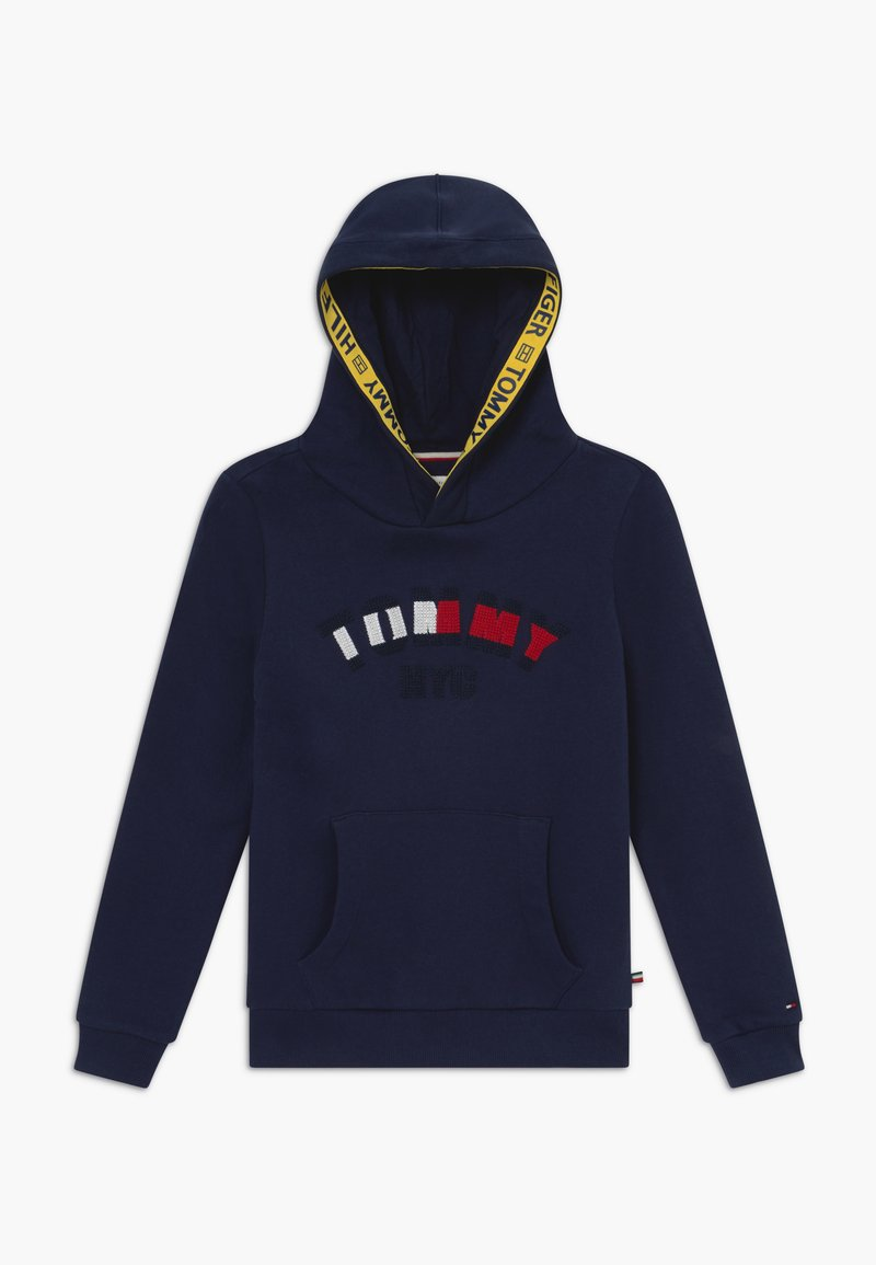 Tommy Hilfiger - GRAPHIC HOODED - Hoodie - blue