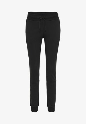 HMLNONI - Tracksuit bottoms - black