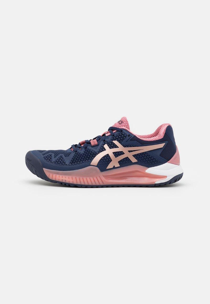 ASICS - GEL-RESOLUTION 8 - Multicourt tennis shoes - peacoat/rose gold