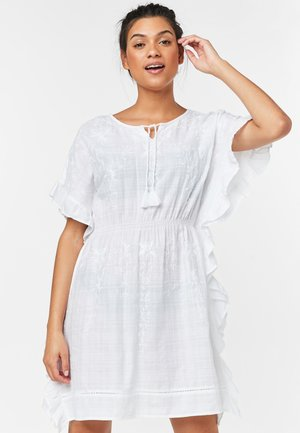 KAFTAN - Day dress - white